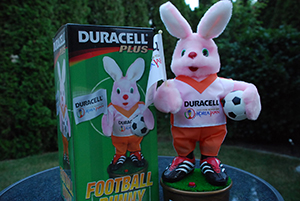 Fußball Hase